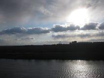 Rivière Pripyat Photographie stock
