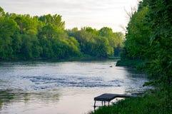 Rivière puissante Images stock