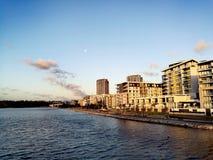 Rivière @ Rhodes, Sydney Australia de Parramatta Photo stock