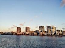 Rivière @ Rhodes, Sydney Australia de Parramatta Photos stock