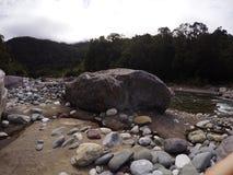 Rivière rocheuse Photos stock