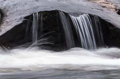 Rivière sauvage et scénique de Chattooga Photo stock