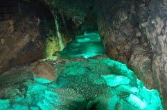 Rivière souterraine Image stock