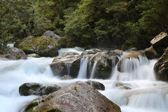 Rivière soyeuse Photos libres de droits