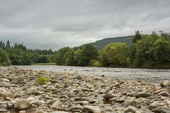 Rivière Spey, Ecosse Photo stock