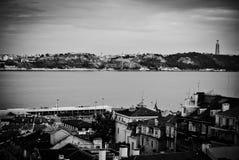 Rivière Tejo Lisbon Image libre de droits