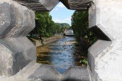 Rivière Upa Image libre de droits