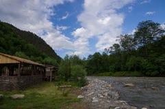 Rivière Zelenchuk photographie stock libre de droits