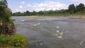 Rivières de Baturaja Image stock