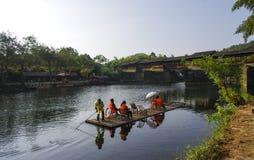 Rivières et ponts Photo libre de droits
