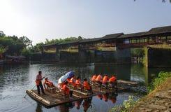 Rivières et ponts Photographie stock libre de droits