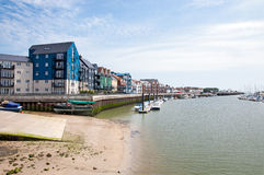 Rivier Arun in Littlehampton Royalty-vrije Stock Foto