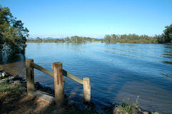Rivier in Australië stock foto's