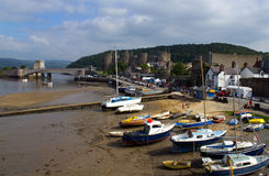 Rivier Conwy Stock Foto