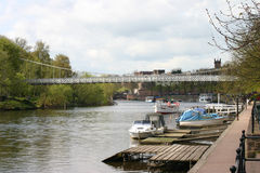 Rivier Dee in Chester Stock Foto
