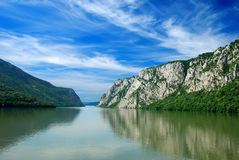 Rivier Donau Royalty-vrije Stock Afbeelding