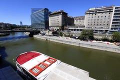 Rivier Donau Stock Afbeelding