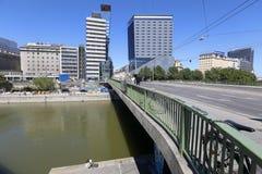 Rivier Donau Royalty-vrije Stock Foto