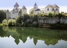 Rivier Doubs Stock Foto