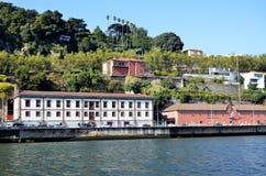 Rivier Douro en de stad van Porto royalty-vrije stock afbeeldingen