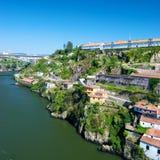 Rivier Douro, Portugal Stock Foto