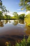 Rivier Eden, Cumbria Royalty-vrije Stock Foto's