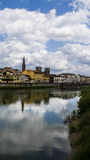 Rivier Florence-Arno Royalty-vrije Stock Foto