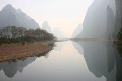 Rivier in Guillan stock fotografie