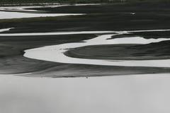 Rivier in IJsland Stock Afbeelding