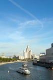 Rivier Moskou Royalty-vrije Stock Foto