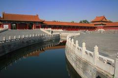 Rivier in Peking, China Stock Fotografie