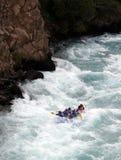 Rivier Rafting Royalty-vrije Stock Afbeeldingen