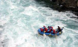 Rivier Rafting Stock Afbeeldingen