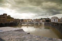 Rivier Rome Stock Foto