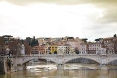 Rivier Rome Royalty-vrije Stock Foto