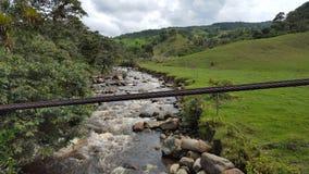 Rivier Santander - Colombia Royalty-vrije Stock Foto