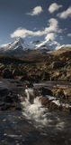 Rivier in Sligachan Skye Stock Afbeelding