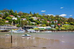 Rivier Tamar Launceston Tasmania Stock Foto's