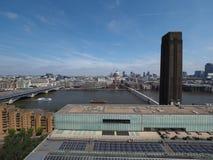 Rivier Theems in Londen stock fotografie