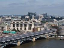 Rivier Theems in Londen royalty-vrije stock afbeelding