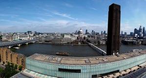 Rivier Theems in Londen stock foto's