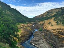 Rivier vallei kloof Royalty-vrije Stock Afbeelding