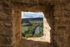 Rivier van het kasteel Stock Afbeeldingen