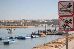 Rivier van Rabat, Marokko Stock Afbeeldingen
