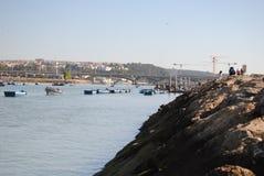 Rivier van Rabat, Marokko Royalty-vrije Stock Foto's