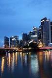 Rivier 2 van Singapore Royalty-vrije Stock Afbeeldingen