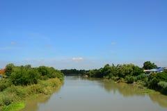 Rivier voor watervervoer Royalty-vrije Stock Fotografie