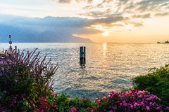 riviera Ελβετός Στοκ εικόνα με δικαίωμα ελεύθερης χρήσης