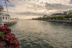 riviera Ελβετός Στοκ φωτογραφίες με δικαίωμα ελεύθερης χρήσης