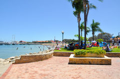 Riviera al porto di Hillarys Immagine Stock